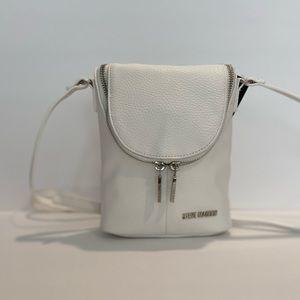 Steve Madden Crossbody Bag, White, NWT